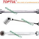 TOPTUL - Double End Swivel Socket Wrench 17mmx19mm (AEEC1719)