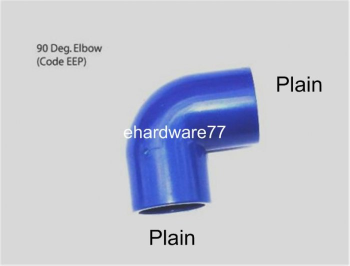 """ABS Equal Elbow 25mm (1"""")"""