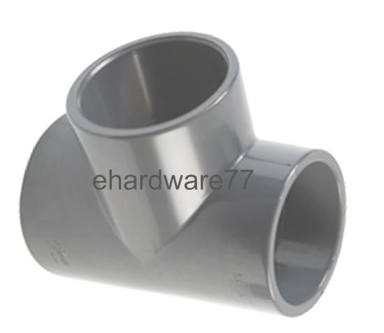 """PVC Tee Joint 40mm 1-1/2"""""""