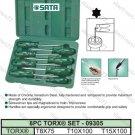 SATA 8PCS TORX SCREWDRIVER SET (09305)