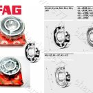 FAG Bearing 6205-2RSR (25x52x15mm)