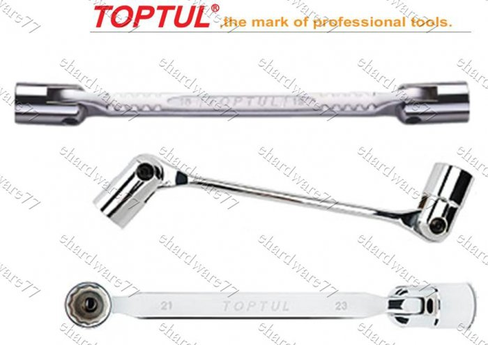 TOPTUL - Double End Swivel Socket Wrench 8mmx9mm (AEEC0809)