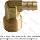 "Male Elbow 3/8"" Barb x 3/8"" Thread"