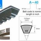 Mitsuboshi Raw Edge Cogged V-Belt AX80
