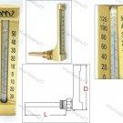 V-LINE ANGLE THERMOMETER 0°C to +120°C (VA662H)