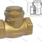 "BRASS SWING CHECK VALVE 4"" BSP"