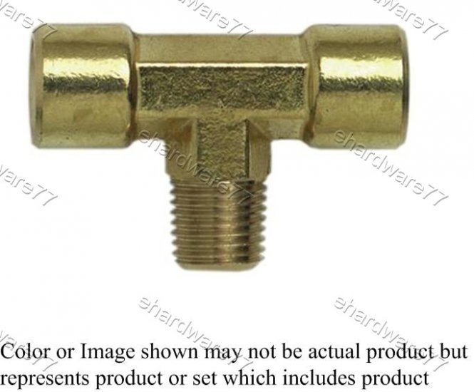"Brass Fitting - Branch Tee 1/4"" (DFMT2)"