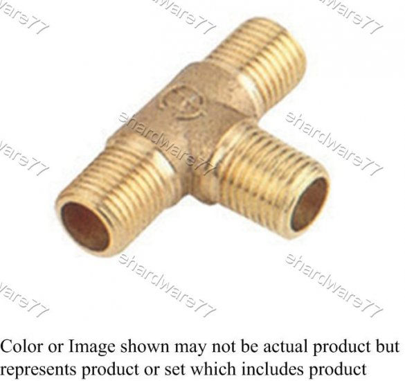 "Brass Fitting - Male Tee Equal 1/2"" (DMT4)"