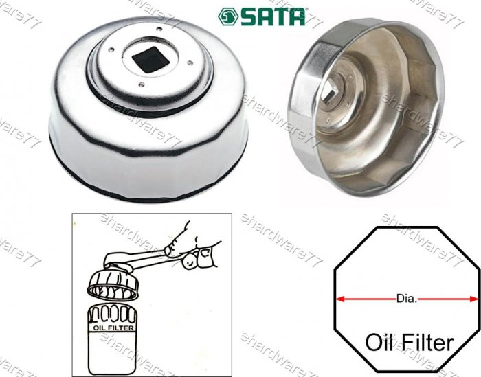 SATA End Cap Oil Filter Wrench 93mm 15Flutes (97407)