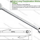TOPTUL EXTRA LONG COMBINATION WRENCH 13mm (AAEL1313)