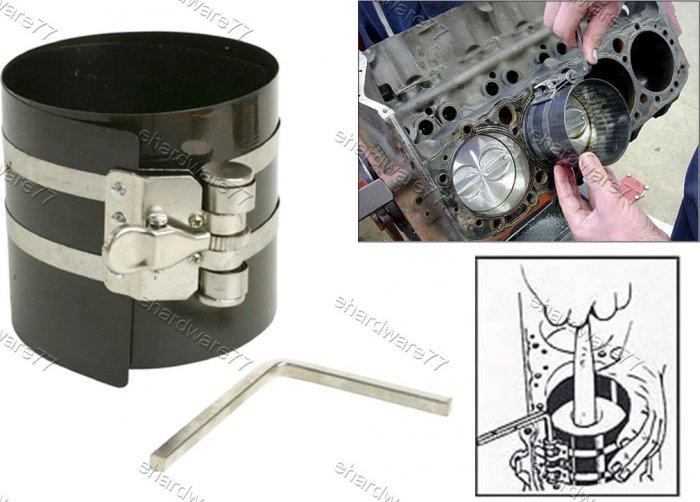 "Engine Piston Ring Compressor 3"" x 90mm-175mm (1735)"