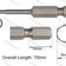 5mm Hex Shank Hex Precision Bit 4.0mm (P5400040)