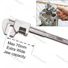 Adjustable Auto Wrench Extra Wide Jaw 70mm (4005C)