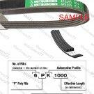 MITSUBOSHI V-Ribbed Drive Belt 3PK525