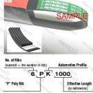 MITSUBOSHI V-Ribbed Drive Belt 5PK1075