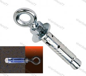 Masonry Eye Anchors Bolt M8 (FT194)