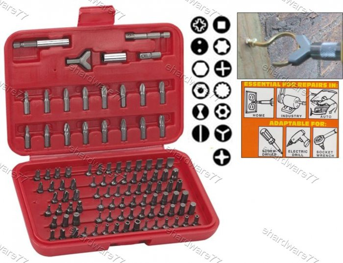 100pcs Security Power Bits Set (6022D)