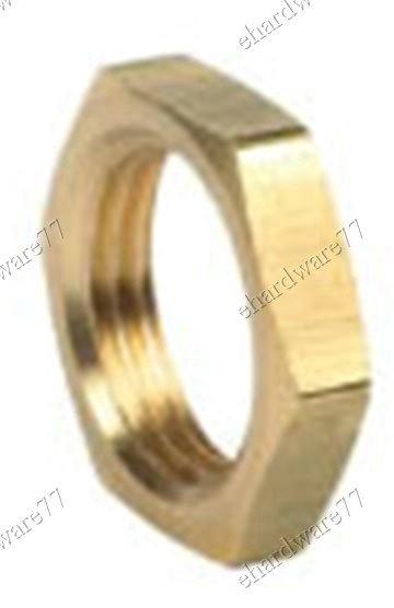 """Brass Flange Nut 3/8"""" BSP (BAF6)"""