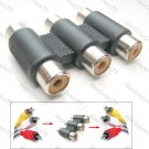 3 to 3 RCA Connector Joints