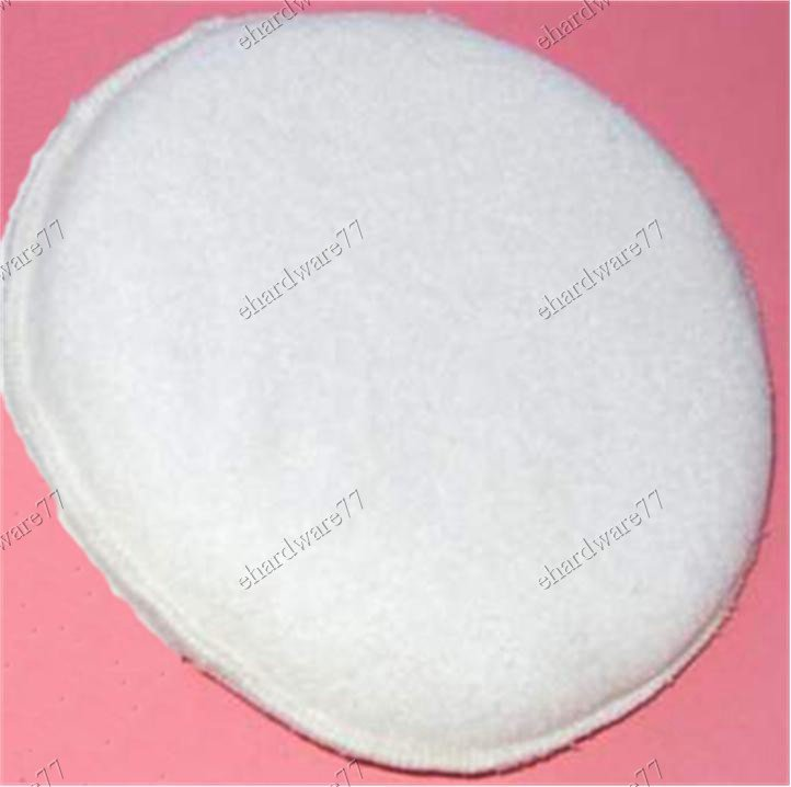 "Velcro Back Lambs Wool Polish Pad 100mm (4"")"