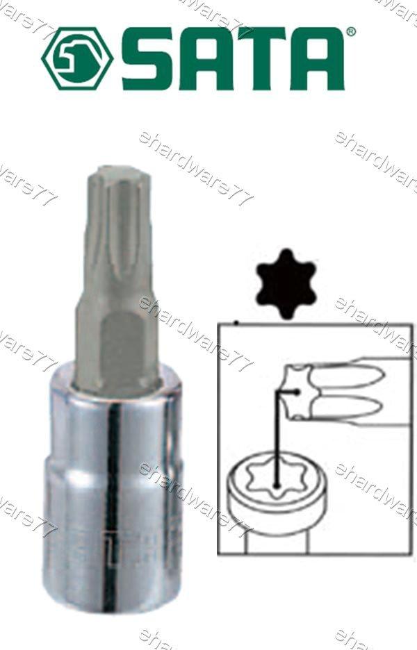 """SATA - 1/4"""" DR. Torx Bit Socket T-20 (21104)"""