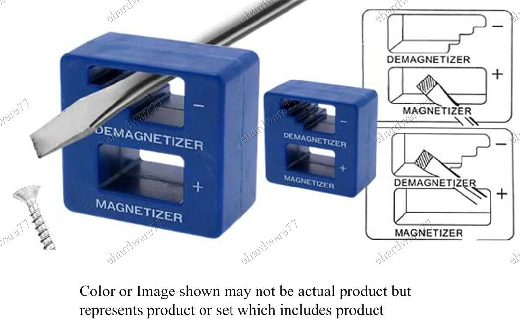 2in1 Magnetizer or Demagnetizer Block (07110)