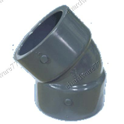 "PVC 45 Degree Plain Elbow 4"" (100mm)"