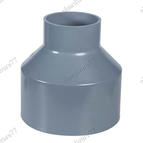 "PVC Reducer Socket 3"" (80mm) X 2"" (50mm)"