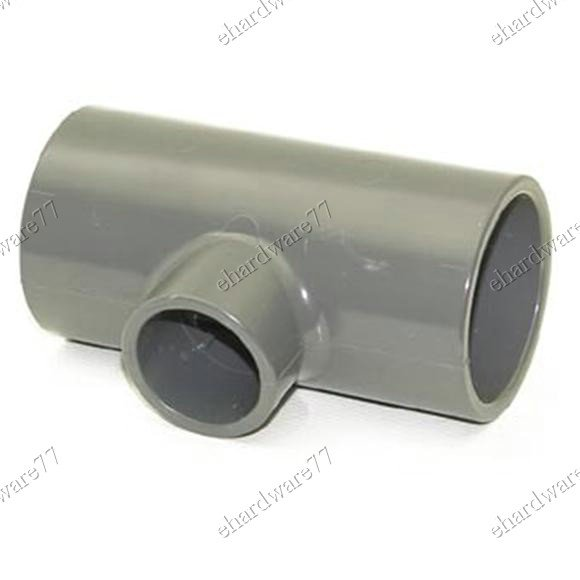 "PVC Tee Reducer Socket 6"" (150mm) X 4"" (100mm) (PRT)"