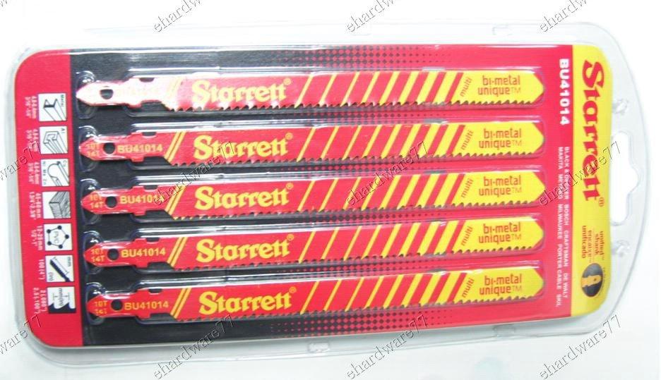 Starrett Universal Bi-Metal Jig Saw Blades 5Pcs/Pack (BU41014)