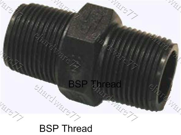 Poly Threaded Nipple 3/4""