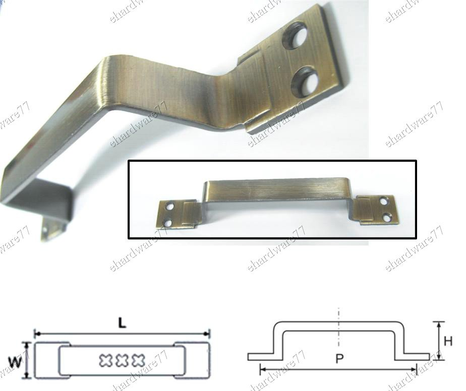 """Bronze Color Utility Pull Handle 6"""" (102)"""