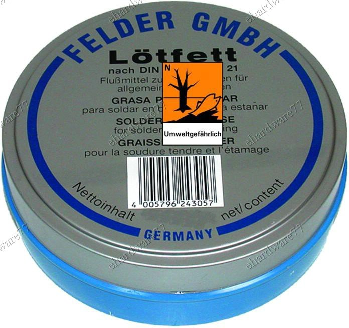Felder Tin Soldering Grease Flux 100g (EL446)