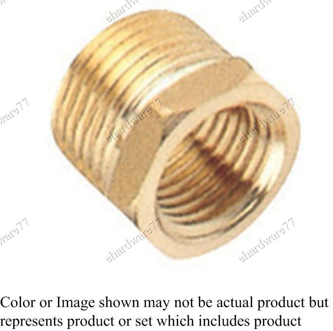 "Brass Bush Reducer 1/4""F X 1/2""M (DBH24)"