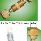 "Nylon Tube Fitting - Straight Joints 1/4"" OD Tube (DUCB2)"