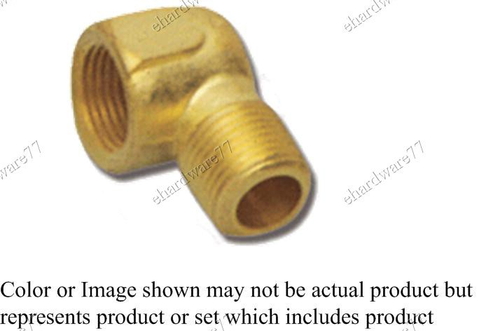 "Brass Fitting Elbow 1/4"" Female x 1/4"" Male (DFML22)"