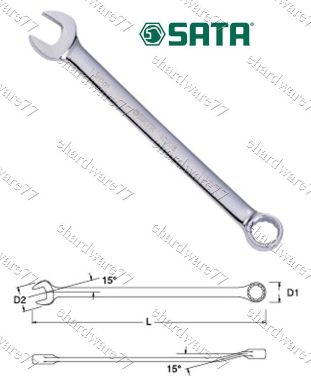 SATA - Combination Wrench 15mm (40210)