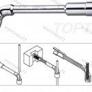 TOPTUL Angled Socket Wrench 13mm (AEAE1313)