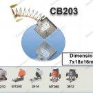 Carbon Brush Set Replacement 7x18x16mm (Makita) (CB203)