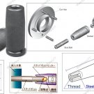 "DOUBLE THREAD END STUD BOLT INSTALL IMPACT SOCKET 1/2"" DR M10 X 1.25P (69782021)"