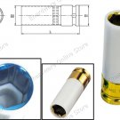 Thin Wall Wheel Nut Protector Deep Socket 19MM (330419)