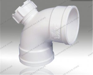 "uPVC Elbow With I/O 4"" (ULIO-100)"