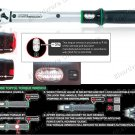 """TOPTUL MICROMETER TORQUE WRENCH 1/4"""" DR 1-25Nm (ANAM0803)"""