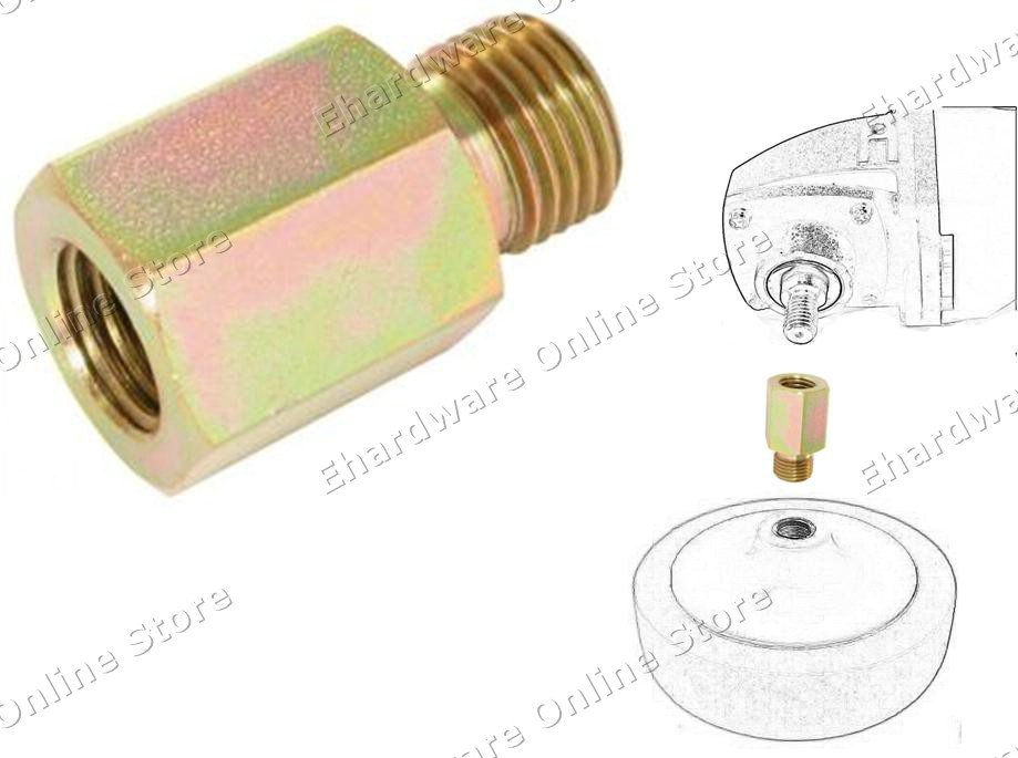 POLISHER PAD REDUCER MALE FEMALE ADAPTER M16(M)-2.0P X M14(F)-2.0P