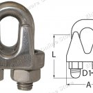 Stainless Steel Wire Rope Grip M8 (9013B8)