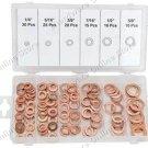 110Pcs Copper Washer Assortment Suit Engine Sump Plug & More (CW110)
