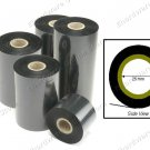 Wax Thermal Transfer Barcode Ribbon 25mm Core 45mmX300M (BR45300)