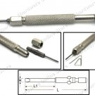 Micro Precision Screwdriver Slotted (Flat) (-) 1.4mm (WSD)