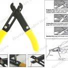 Adjustable Fiber Optic And Wire Jacket Stripper (84214)