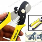 2 in 1 Combination Round Cable Cutter & Stripper (RT-6065)